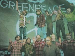 Moore Greenpeace days