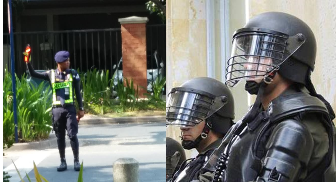 public vs private policing Public policing vs private security comparison larry fulse ajs/504 june 22,  2015 kevin moore when comparing public policing to private security there are.